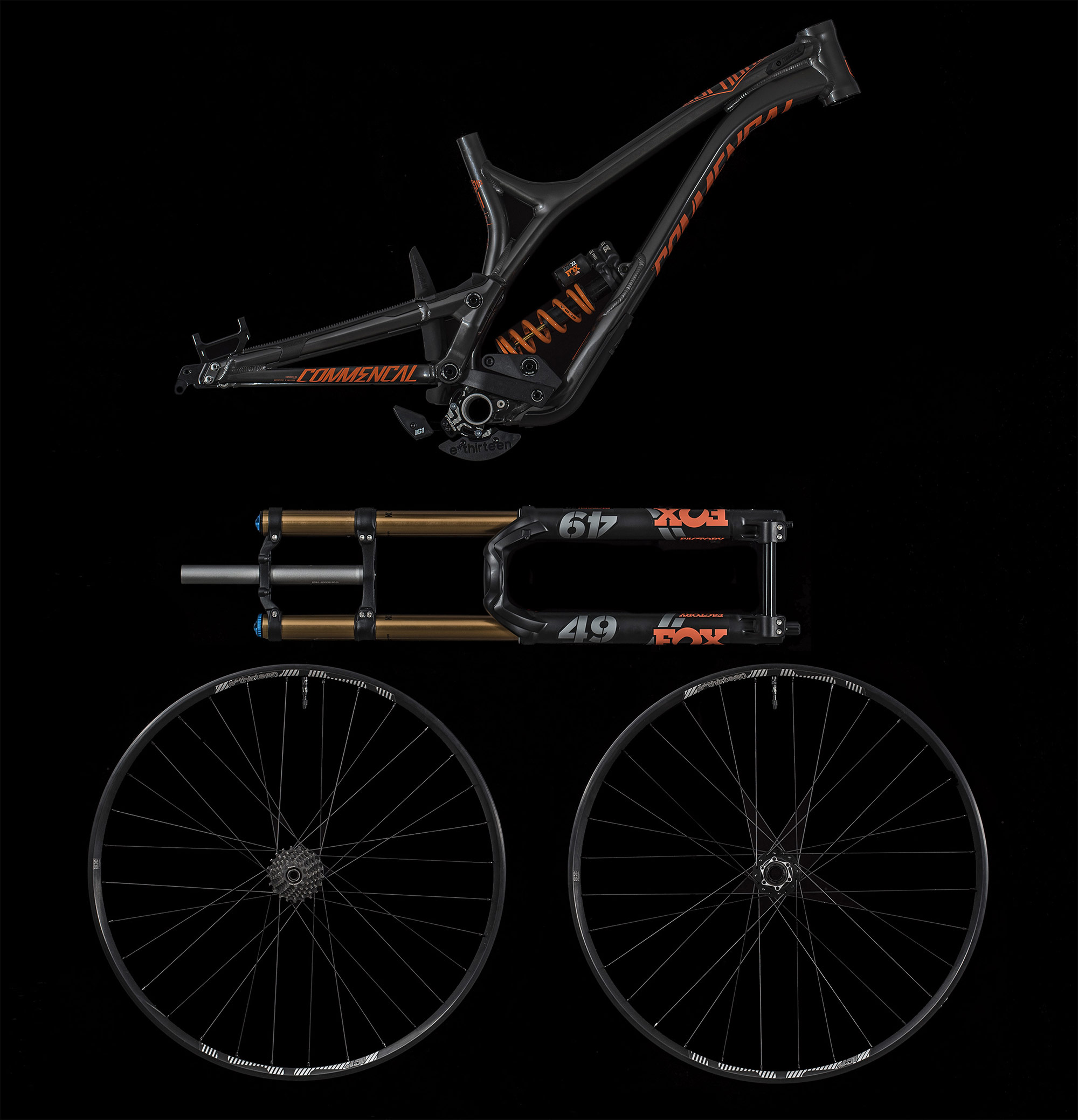 Commencal Supreme Dh 29 Race Kit